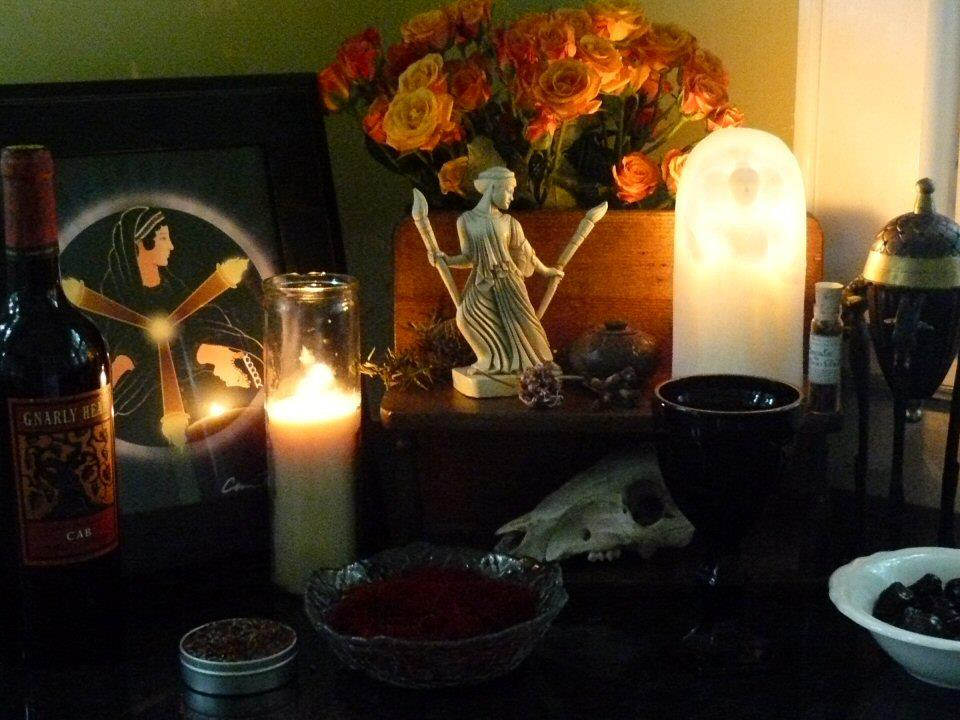 Hecate Altar