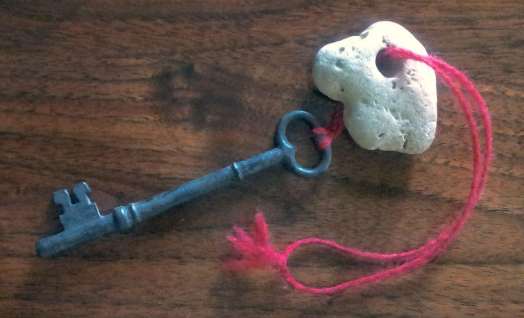 hagstone and key